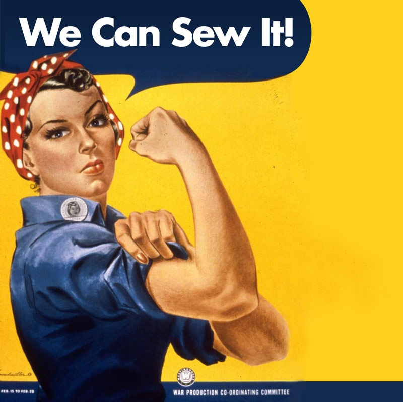 we can sew it